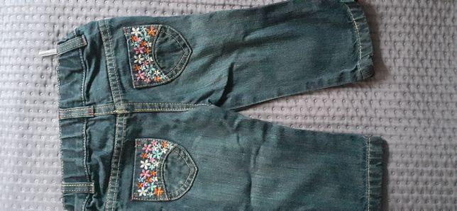 Spodnie jeans C&A 74