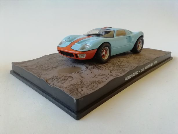 1/43 Ford GT40 - James Bond [007] (Miniatura - Eaglemoss)