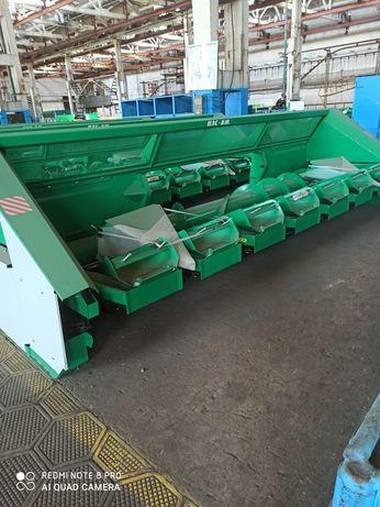 Жатки для уборки кукурузы подсолнечника ПЗС-8 КМС-6 КМС-8 ПЗН-7.4