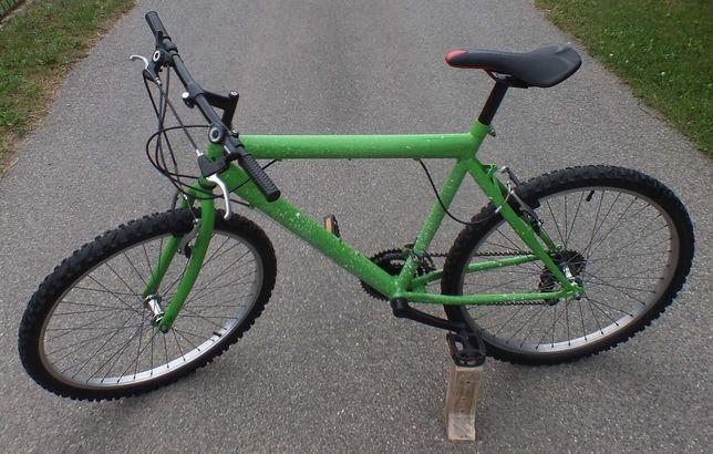 Rower na kołach 26 cali, 18 przełożeń