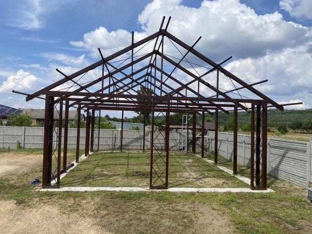 Konstrukcja stalowa garaż warsztat gospodarczy