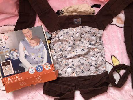 Слинг эрго-рюкзак, Love & carry для самых маленьких