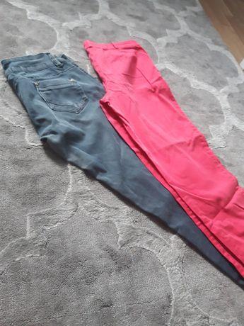 Spodnie Promod Orsay 38 M szare Malinowe