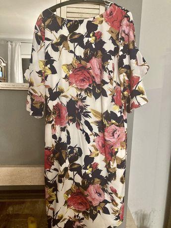 Sukienka Bonprix w róże