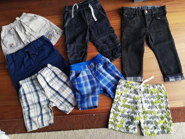 Spodnie 86/98  5par