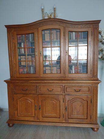 Witryna drewniana, szafa