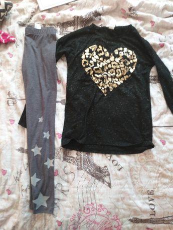 Ubrania 146 dziewczynka 15 sztuk