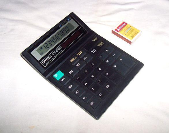 Калькулятор CITIZEN CT-600, 10-разрядный / 10-разрядний