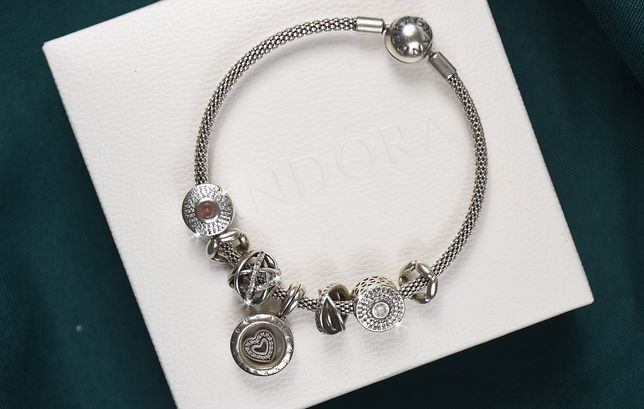 PANDORA charms S 925 ALE srebro charmsy koraliki