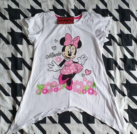Koszulka Myszka Minnie Reserved H&M Zara Newbie 134 cm Zapraszam