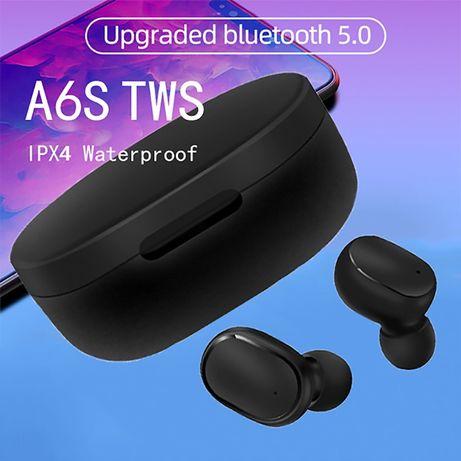 A6S TWS słuchawki bezprzewodowe bluetooth v5.0.