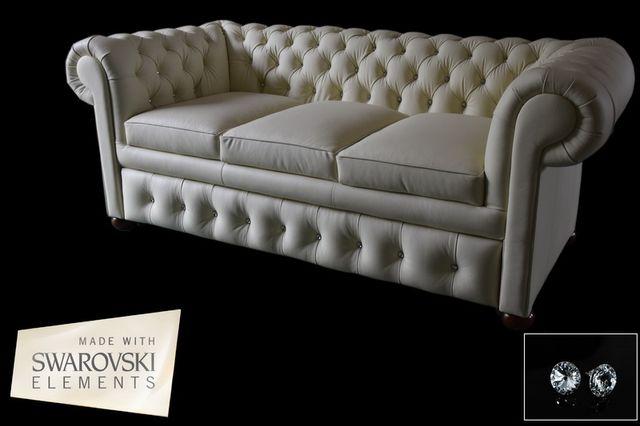 Pikowana Sofa Chesterfield ''CLASSIC'' 205cm
