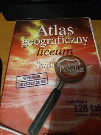 Atlas geograficzny liceum wydanie rozszerzone PWN