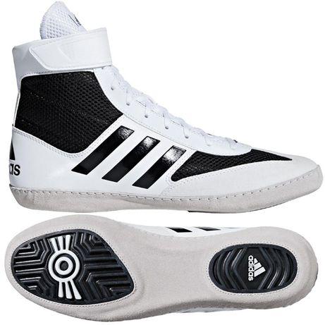 wyprzedaż buty zapaśnicze krav maga boks adidas combat speed 5 białe