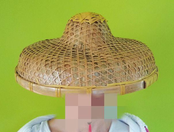 Hong Kong kapelusz ręcznie wykonany przez mnichów