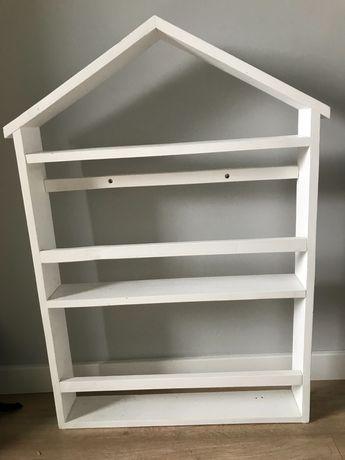 Półka na książki - domek