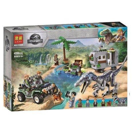 Конструктор Jurassic World™ Поединок с Бариониксом 11335 | аналог LEGO