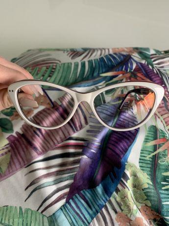 Okulary korekcyjne / przeciwsłoneczne kocie Ocean białe