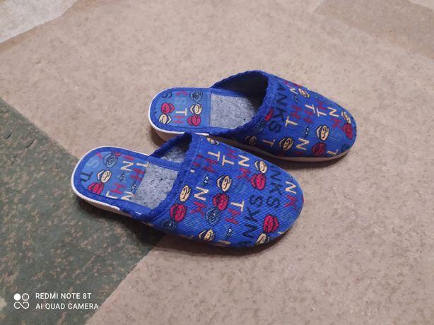 Тапочки для мальчика
