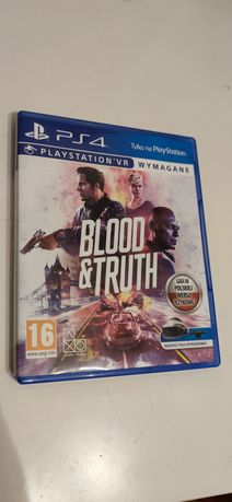 Blood & truth ps4 Vr