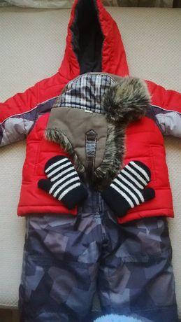 Зимний комплект London Fog 18 м + шапка