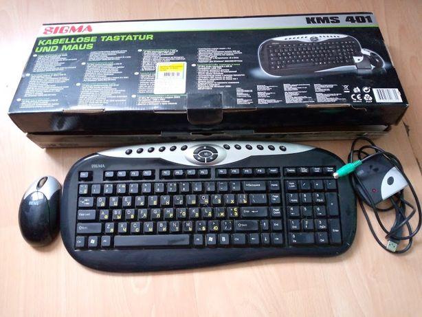 Беспроводная клавиатура и мышь Sigma KMS-401