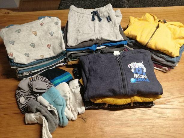 Ubranka zestaw jesienny 43 sztuki spodnie body kombinezon bluzka