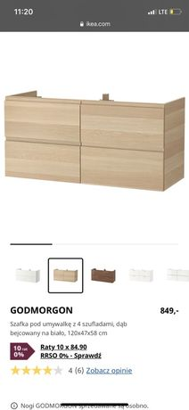 Szafka lazienkowa IKEA GODMORGON 120cm