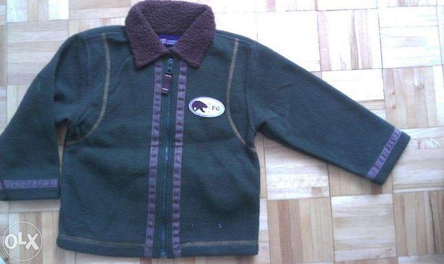 sweter - bluza w roz.104 z kołnierzem dla 3 latka