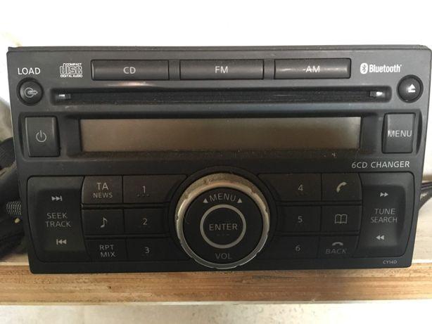 Auto Radio com leitor de 6 CD para Nissan Navarra 2015