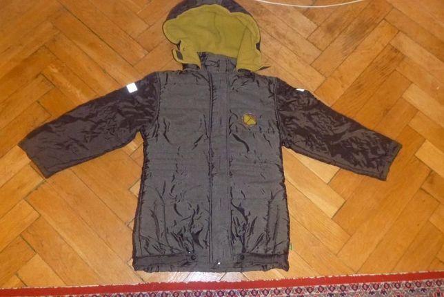 zielona kurtka dziewczęca 140 przejściowa