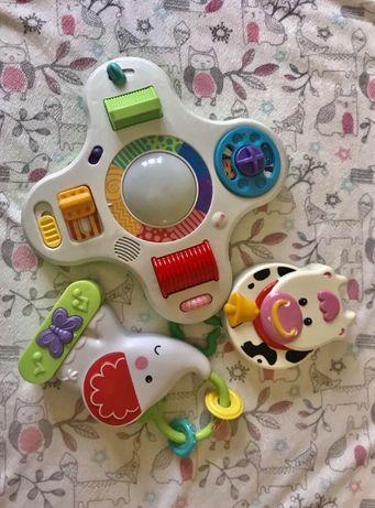 Музикальные игрушки Chicco Fisher музыкальный ночник