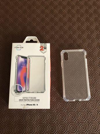 Capas IPhone 8 e 10 + suportes carro