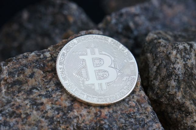 Биткоин монета. Биткойн жетон серебро 925.Bitcoin.Криптовалюта биткоин