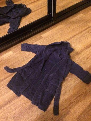 Детский Брендовый махровый халат от 2 до 3 лет