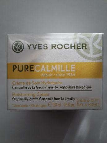 Увлажняющий крем для лица Pure Calmille от Ив Роше Yves Rocher.