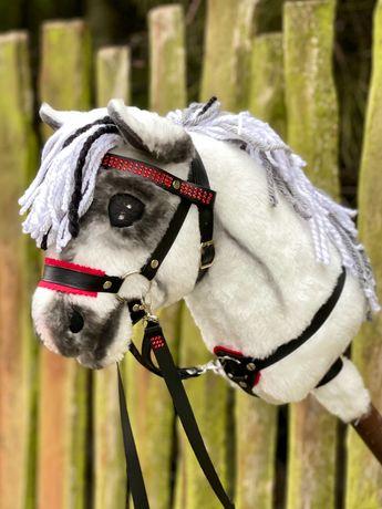 Hobby Horse / Konik na patyku - SIWEK z krótką grzywą