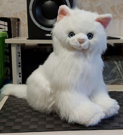 Красивая мягкая игрушка белая кошечка/товар из Дании