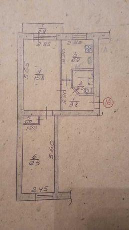 Недвижимость Стаханов,двухкомнатная квартира.Район проспекта