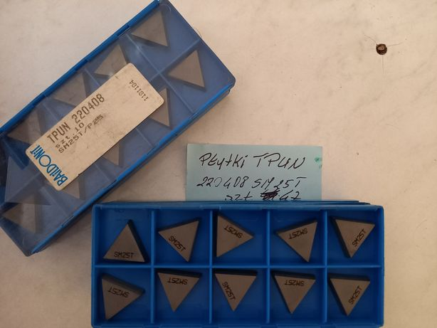 Płytki tokarskie TPUN 220408 SM25T