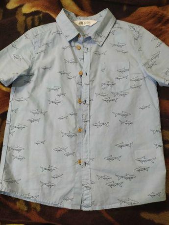 Рубашка на мальчика 6-7 лет