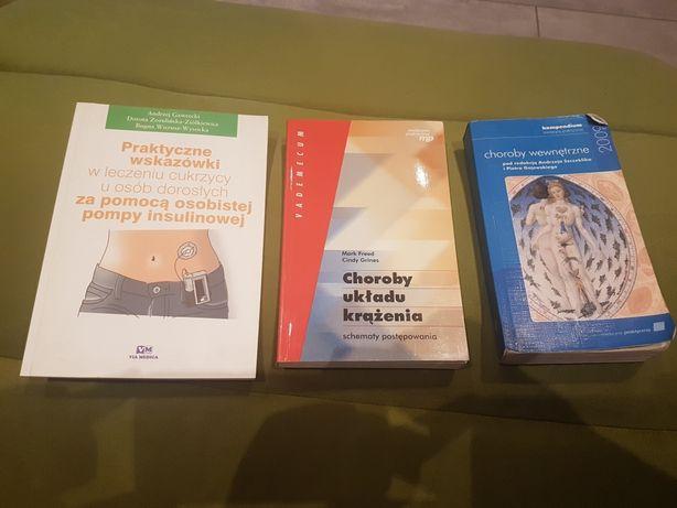Choroby wewnętrzne Szczeklik, choroby układu krążenia, cukrzyca książk