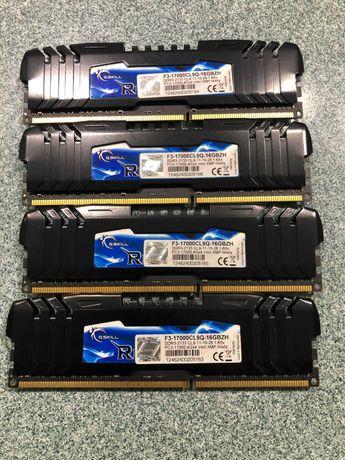 Пам'ять G.Skill 16 GB (4x4GB) DDR3 2133 MHz (F3-17000CL9Q-16GBZH)