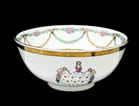 Grande taça antiga 24cm em porcelana Chinesa