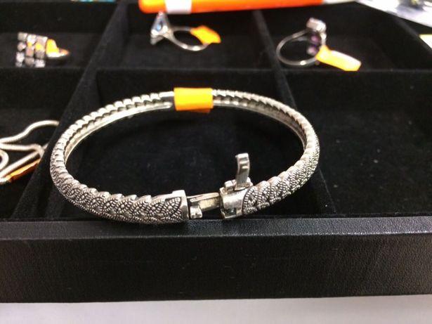 Bransoleta srebro 925