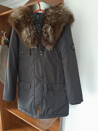 Куртка-парка фирмы Vans
