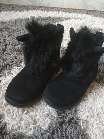 Чобітки зимові для дівчинки Зимние ботинки