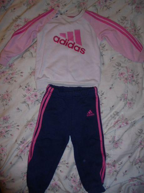 dresik na dziewczynke Adidas 9-12miesiecy roz.80