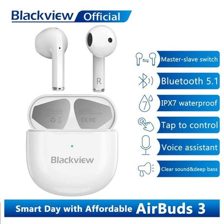 Беcпроводные Наушники TWS Blackview AirBuds 3 (bluetooth5.1)