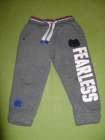 Продам детские спортивные штаны с начесом р.92-104